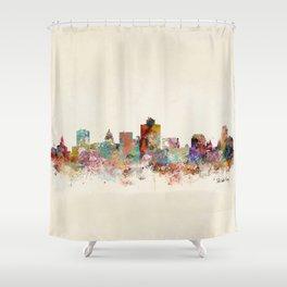 salt lake city utah Shower Curtain
