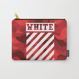 Off-White Bape Camo Red Carry-All Pouch