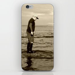 A Boy and The Sea iPhone Skin