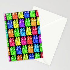 Pixel Gummy Bears Stationery Cards