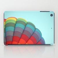 hot air balloon iPad Cases featuring Hot Air Balloon by Stephanie K