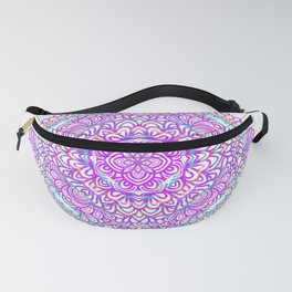 Purple Dress Fanny Pack