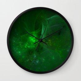 Emerald Sky Wall Clock