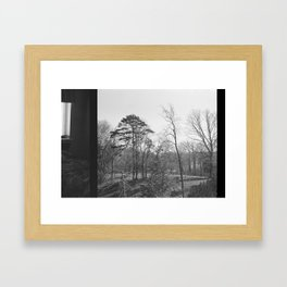 room with a view Framed Art Print