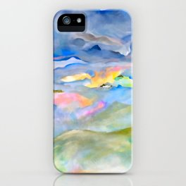 Tropical Storm Isaias iPhone Case