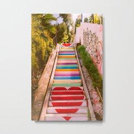 Micheltorena Stairs Metal Print