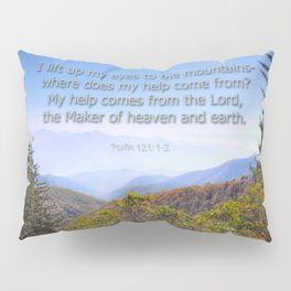 My help comes from the Lord Pillow Sham