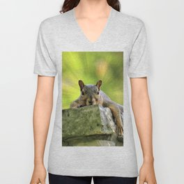 Relaxed Squirrel Unisex V-Neck