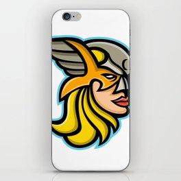 Valkyrie Warrior Mascot iPhone Skin
