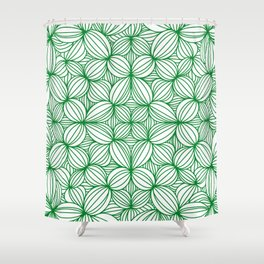 The grass is greener Shower Curtain