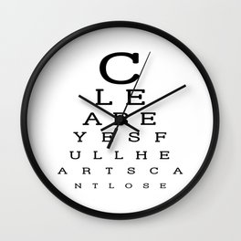 Clear Eyes, Full Hearts, Can't Lose Wall Clock