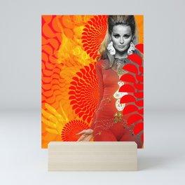 Supermodel Samantha 1 - Supermodels of the Sixties Series Mini Art Print