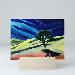 Utah (study of impressionism) Mini Art Print