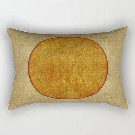 """Golden Circle Japanese Inspiration"" Rectangular Pillow"