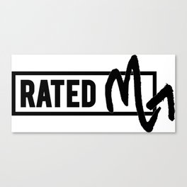 Rated M for Scorpio Canvas Print