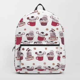 Cookie & cream & penguin Backpack
