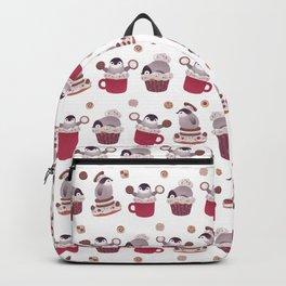 Cookie & cream & penguin Backpack