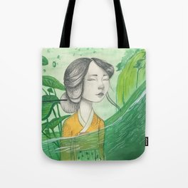 The Lonely Traveler II Tote Bag