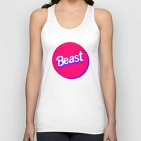 beast Tank Tops featuring Beast by Heretical