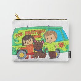 Sleuth Couple and Dog Carry-All Pouch