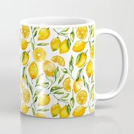 sunny lemons print Coffee Mug