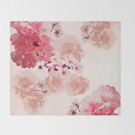 Floral Rage Throw Blanket