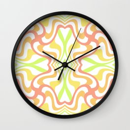 Colorful Pattern 2 Wall Clock