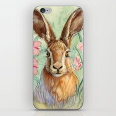 Bunny and Fireweed A089 iPhone & iPod Skin