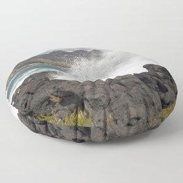 WAVES BEACH - SICILY Floor Pillow