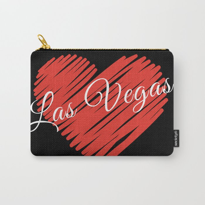 LOVE LAS VEGAS Carry-All Pouch