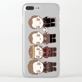Hiddlespeare Clear iPhone Case