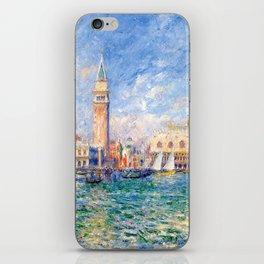 """Auguste Renoir """"Vue de Venise (Le Palais des Doges)"""" iPhone Skin"""