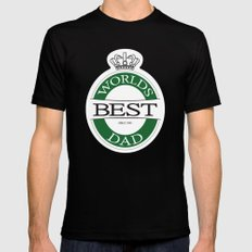 the best X-LARGE Mens Fitted Tee Black