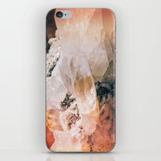 Dreamy Large Quartz Crystals iPhone & iPod Skin