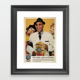 POLLOS HERMANOS Framed Art Print