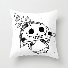 Al Pastor chili-flip Throw Pillow