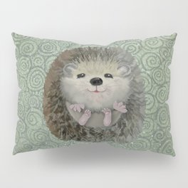 Cute Baby Hedgehog Pillow Sham