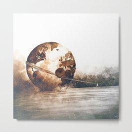 Burden Carrier Metal Print