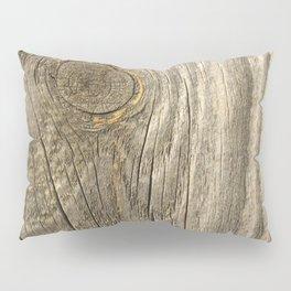 Texture #1 Wood Pillow Sham
