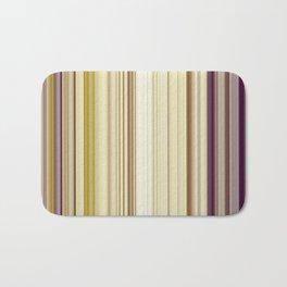 Purpel Stripes Bath Mat