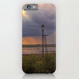 Sunset over the Norfolk Broads, UK iPhone Case