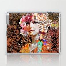 Rose. Black Laptop & iPad Skin