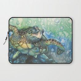 Sea Turtle Glides Laptop Sleeve
