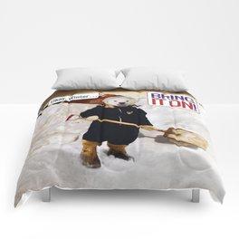 Okay, Winter . . . Bring it on! Comforters
