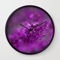 focus Wall Clocks featuring Focus by Mark Alder