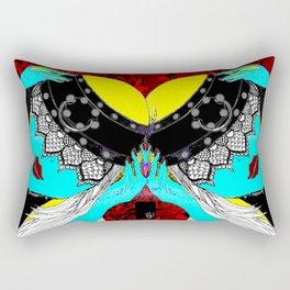 Iriana- Serie Viva La Femme Rectangular Pillow