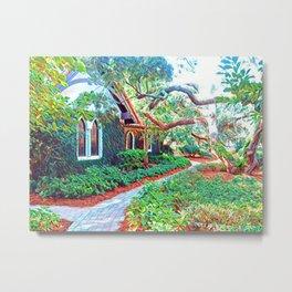 green sanctuary Metal Print