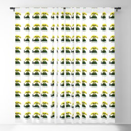 ORGANIC INVENTIONS SERIES: Vintage Banana Phone Blackout Curtain