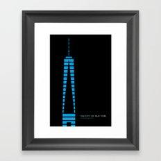 New York Skyline: One World Trade Center Framed Art Print