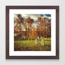 cemetery 1 Framed Art Print